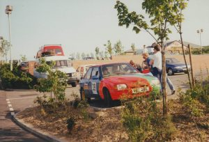 1992 Centurion Rally Chris King and Geoff Moss - Ford Escort Mk4