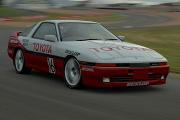 1988 Phillippe Muller and Hans-Peter Kaufmann ETCC Toyota Supra