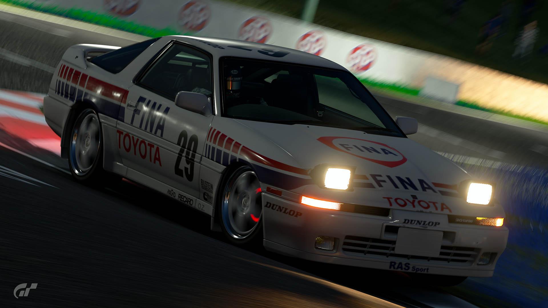 1988 Eric Bachelart, Pierre-Alain Thibaut & Philip Verellen ETCC Toyota Supra