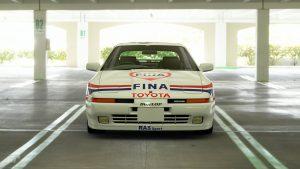 1988 Eric Bachelart, Pierre-Alain Thibaut & Phillip Verellen ETCC Toyota Supra