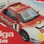Belga Team - Circuit des Ardennes Advertisement 1986
