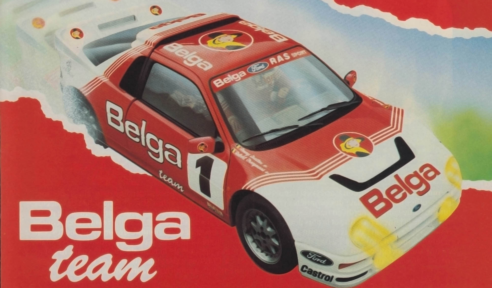 Belga Team – Circuit des Ardennes Advertisement 1986