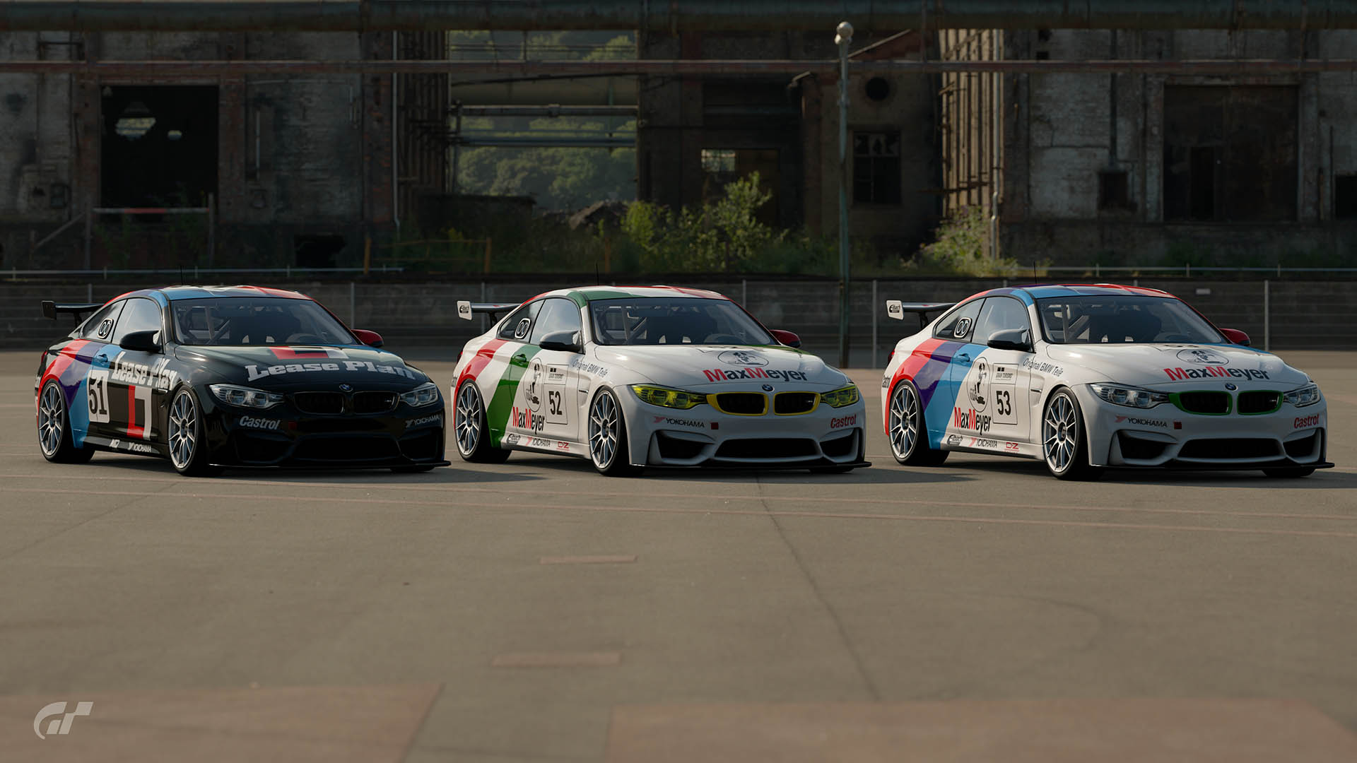 Team Bigazzi 1988 ETCC BMW M4 Liveries