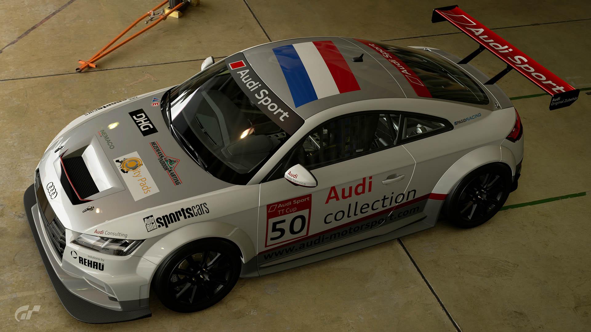 2015 Audi TT Cup #50 Loris Hezemans