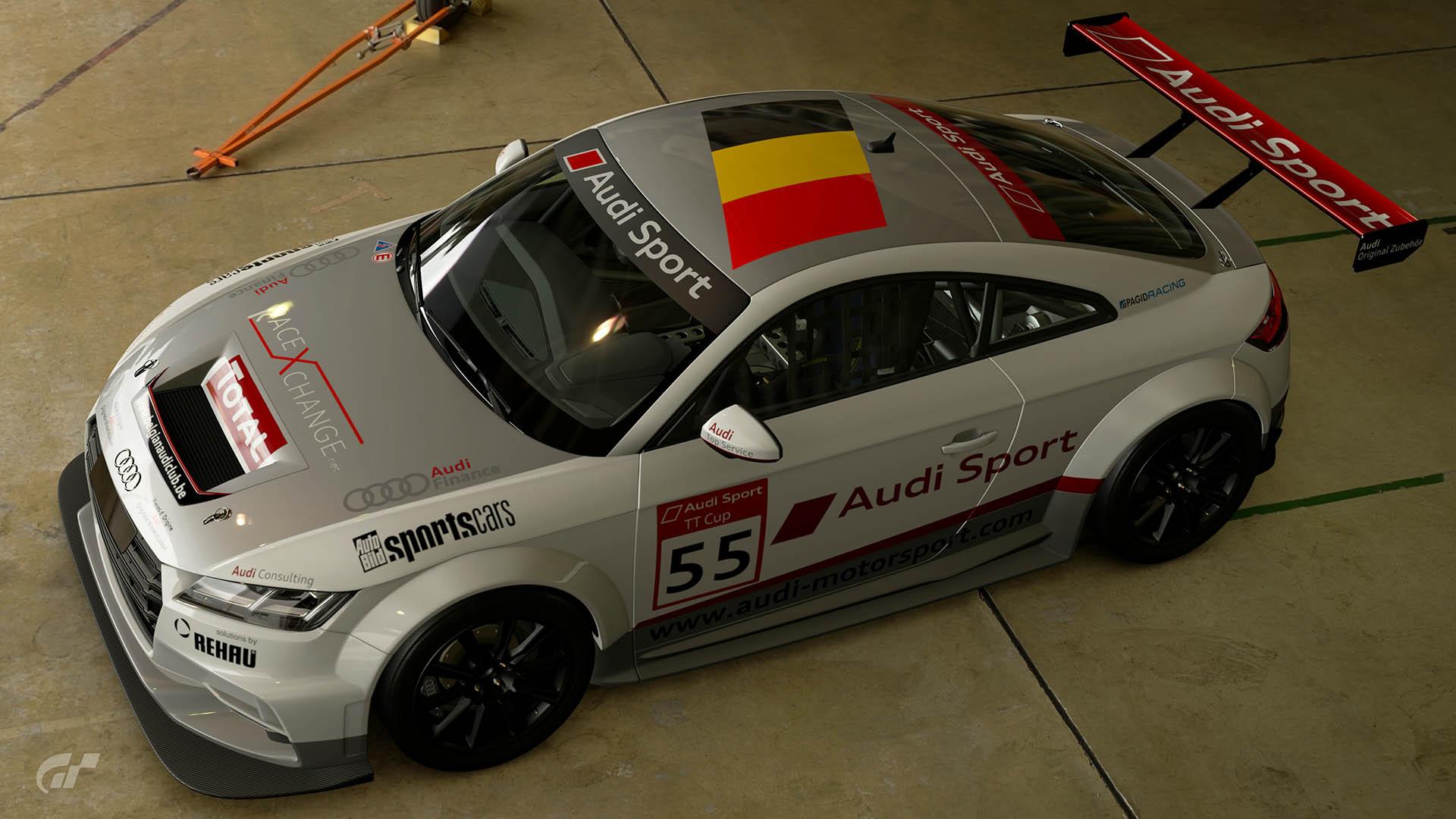 2015 Audi TT Cup #55 Alexis van de Poele