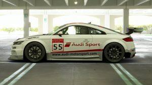 Alexis van de Poele 2015 Audi TT Cup