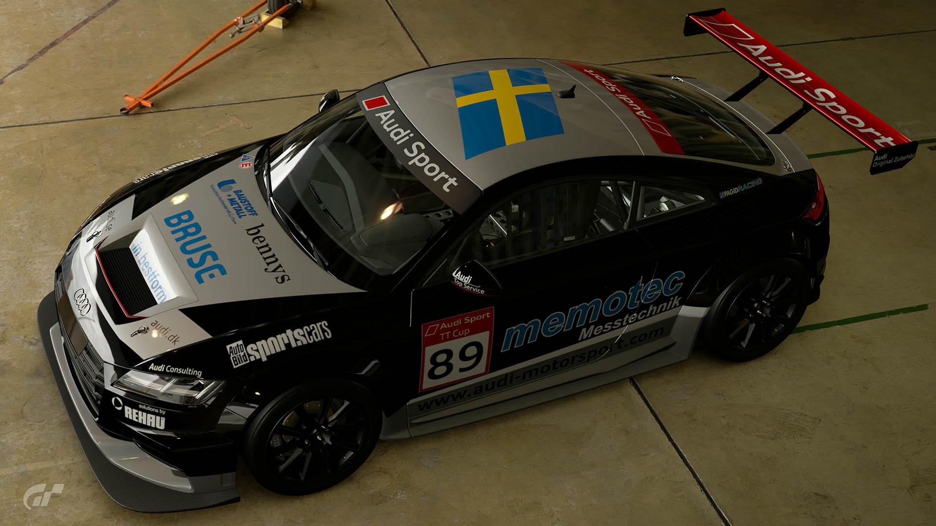 2015 Audi TT Cup #89 Mikaela Åhlin-Kottulinsky