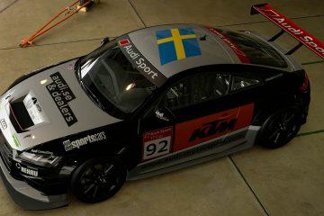 Anton Marklund 2015 Audi TT Cup