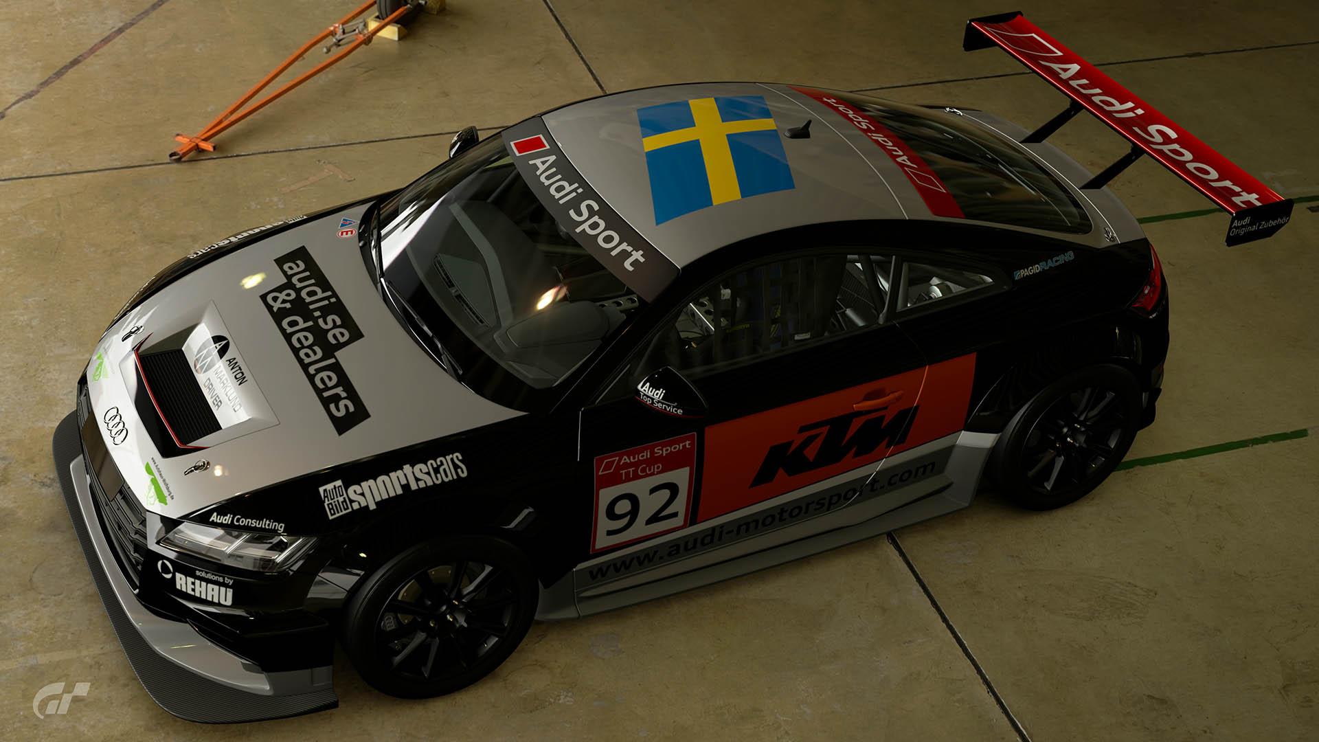 2015 Audi TT Cup #92 Anton Marklund