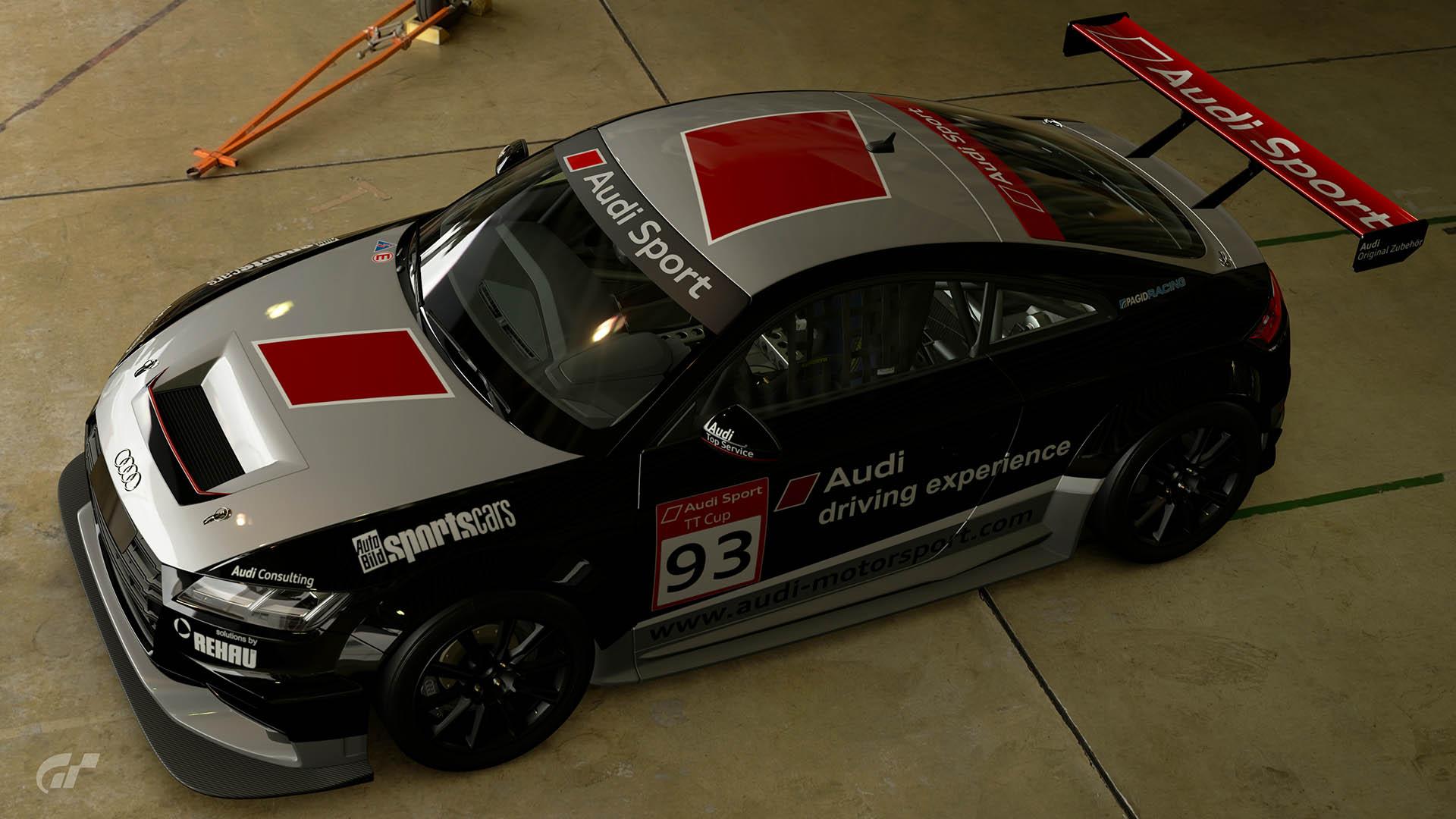 2015 Audi TT Cup #93 Guest Car