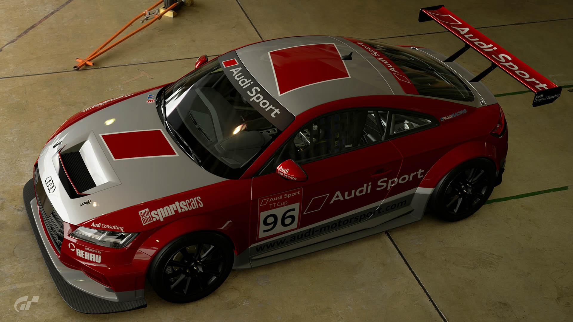 2015 Audi TT Cup #96 Guest Car