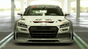 Finlay Hutchison 2017 Audi TT Cup