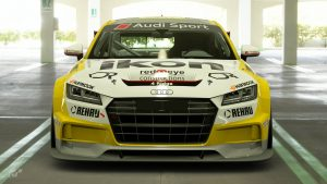 Drew Ridge 2017 Audi TT Cup