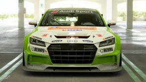 Simon Wirth 2017 Audi TT Cup