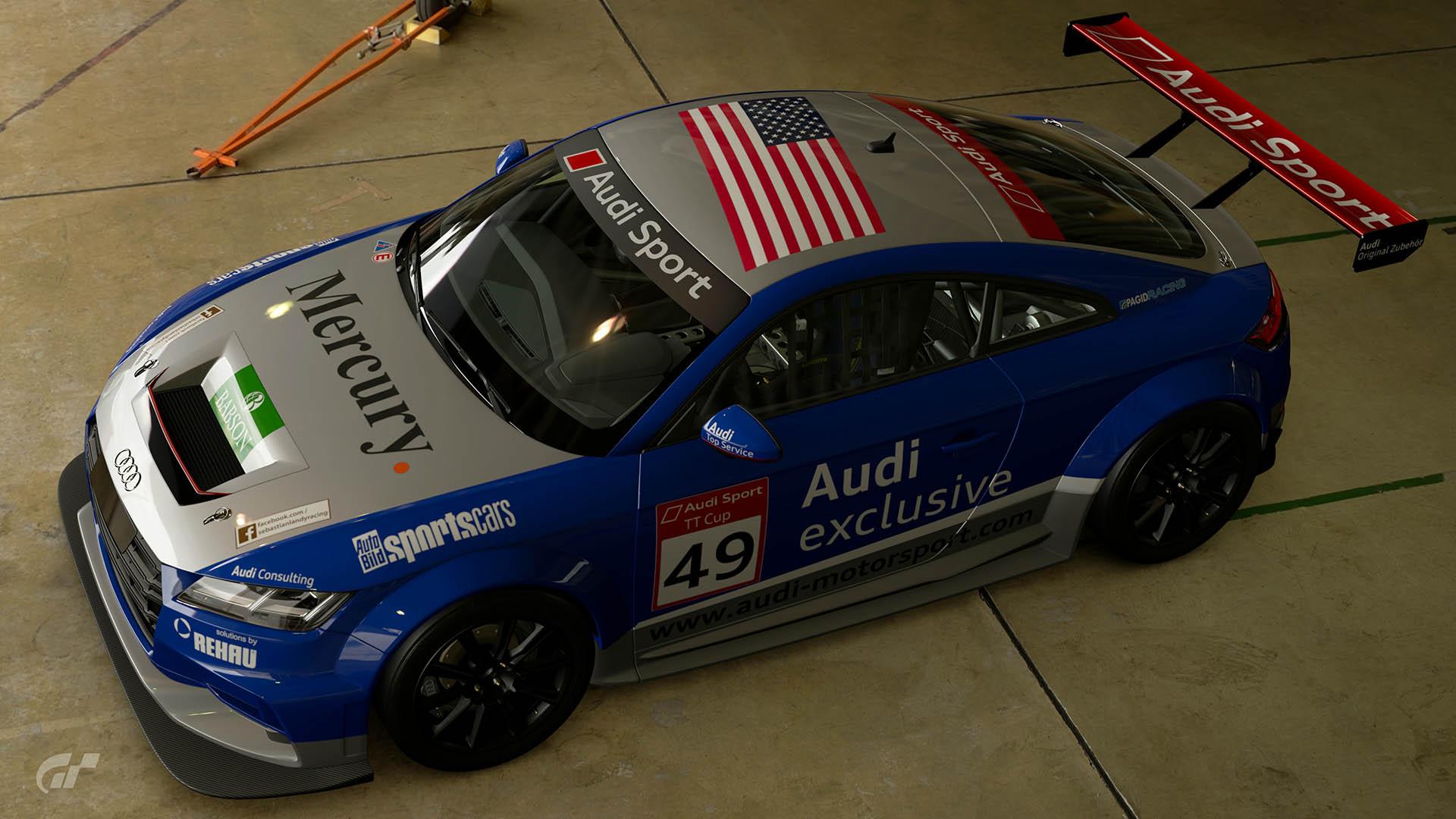 2015 Audi TT Cup #49 Sebastian Landy