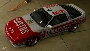 1987 Hans Heyer and Eddy Joosen WTCC Toyota Supra