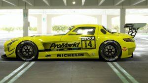 Kurt Thiim 1994 DTM Mercedes SLS