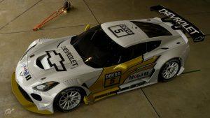 Manuel Reuter 1994 DTM Chevrolet Corvette Livery
