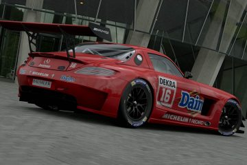 John Winter 1995 DTM Mercedes SLS