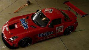 John Winter 1995 DTM Mercedes SLS
