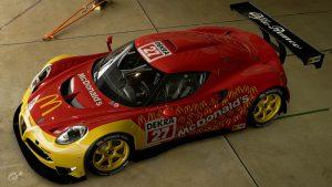 Markku Alen 1995 DTM Alfa 4C Livery
