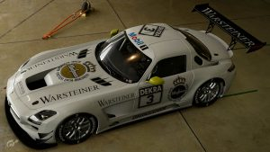 Jan Magnussen 1996 DTM/ITC Mercedes SLS