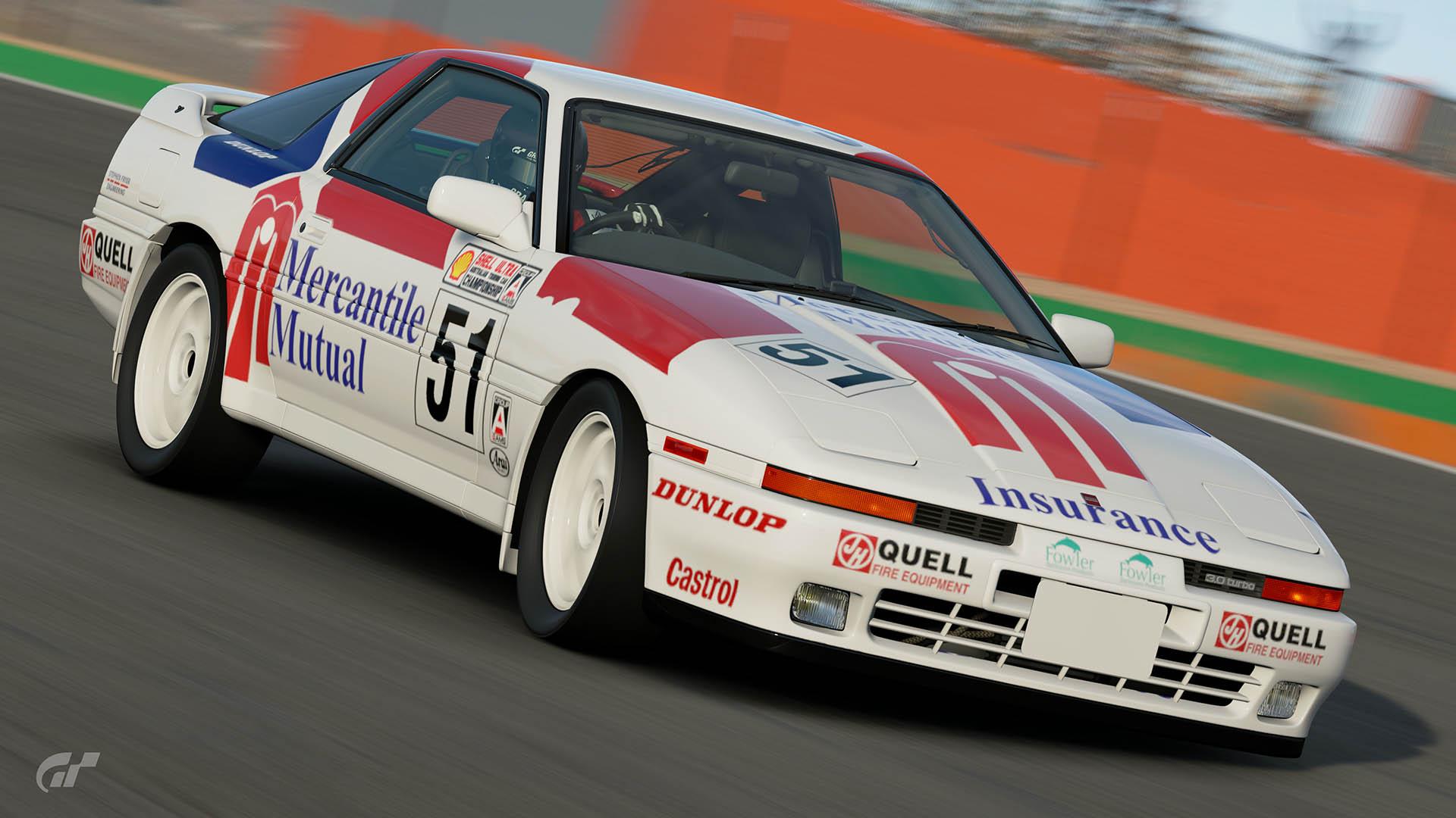 John Smith Australian Heritage Touring Cars Toyota Supra