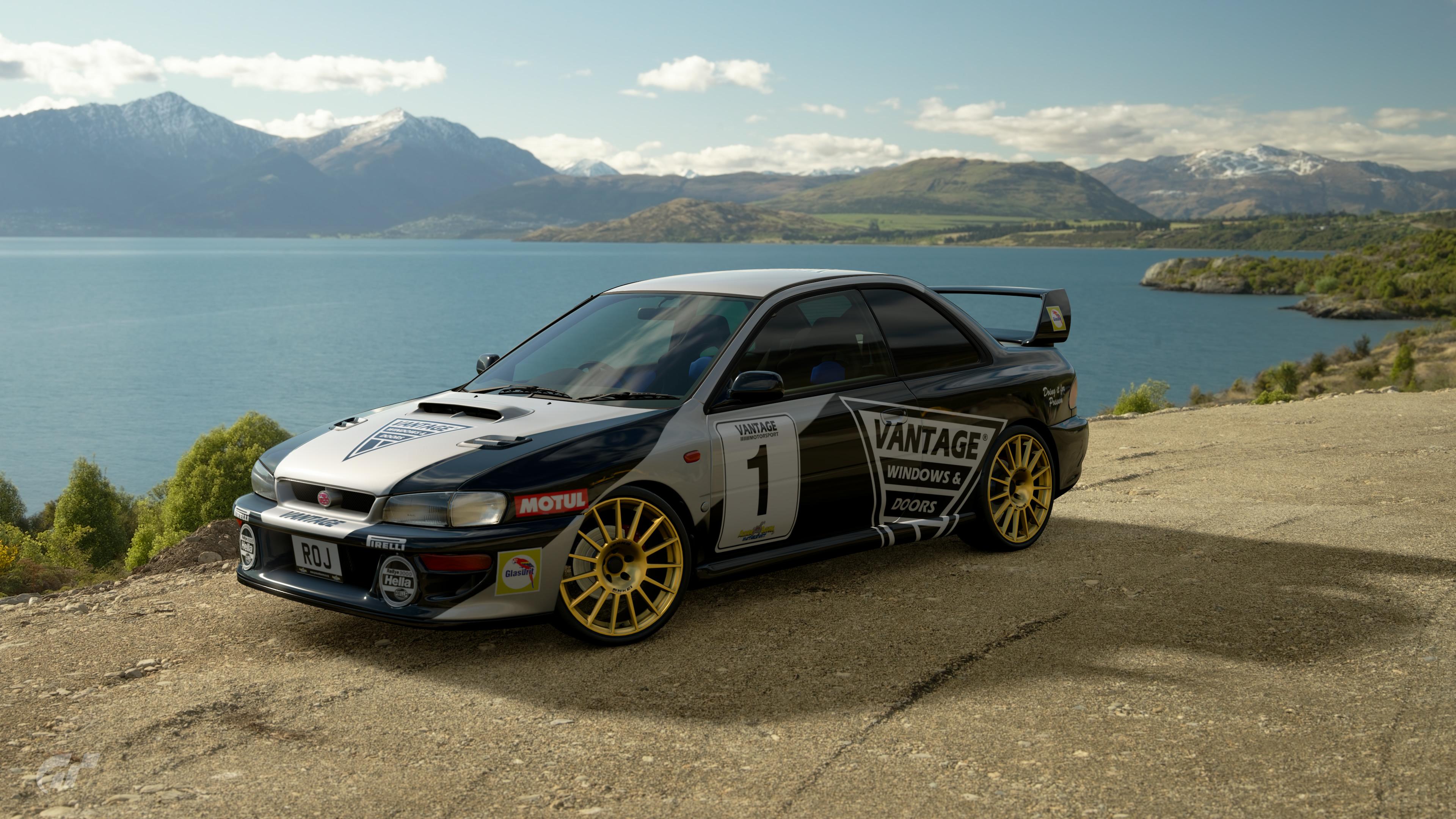 Possum Bourne Motorsport Subaru Impreza 22B