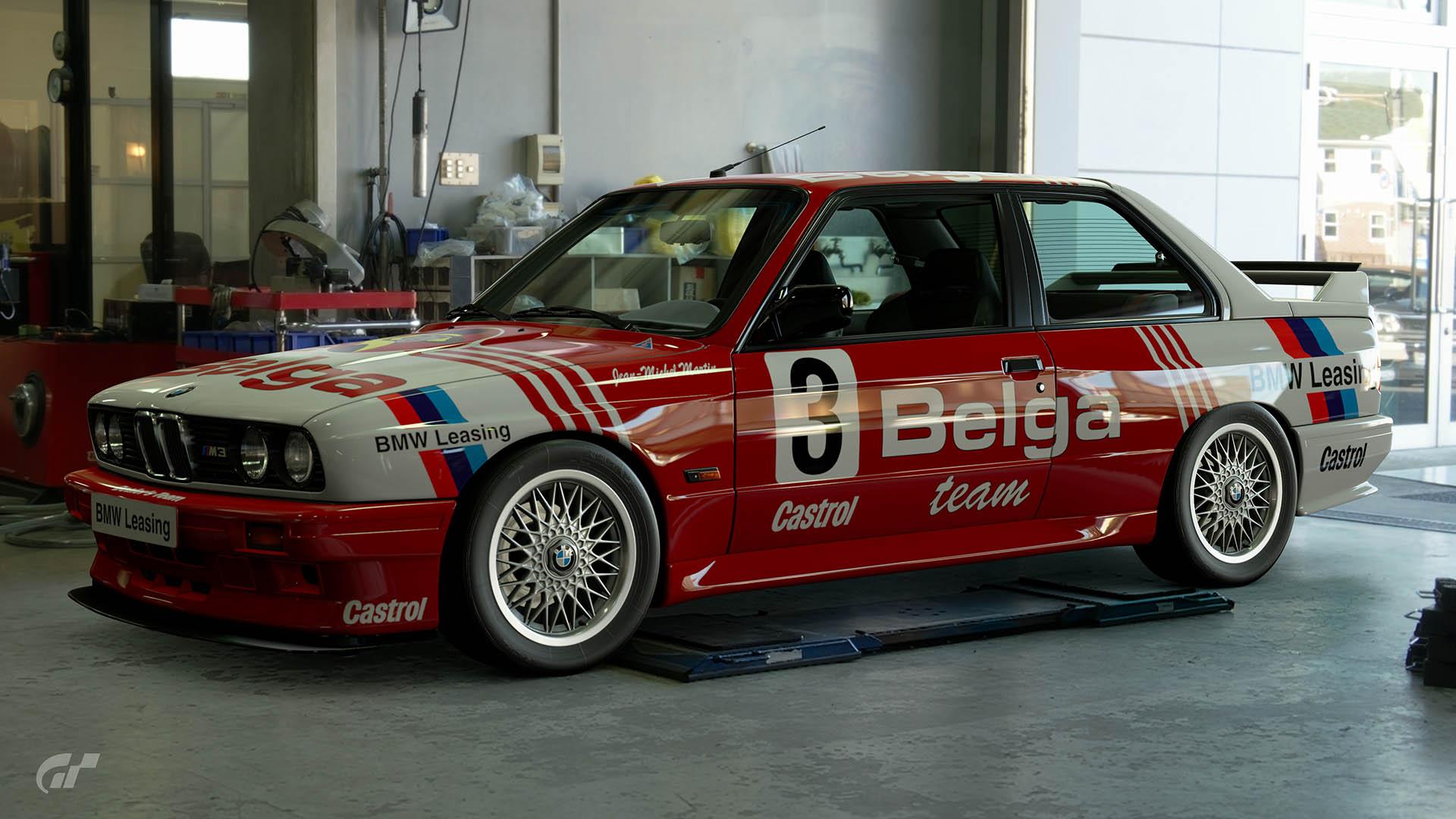 1986 Jean-Michel Martin Belgian Touring Car Championship BMW