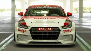 Philip Verellen 1991 Belgian Procar Audi TT