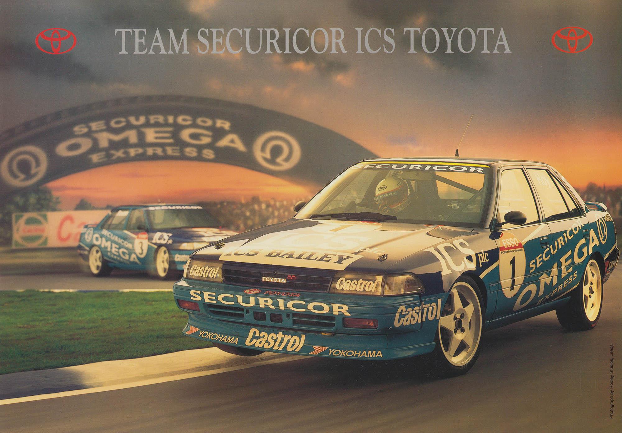 Rouse Sport Toyota Carina Touring Car Promo Brochure