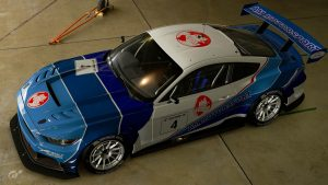 Wolf Racing Ford Mustang Gr.3