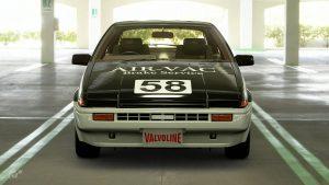 1986 David Ratcliff ATCC Toyota Corolla
