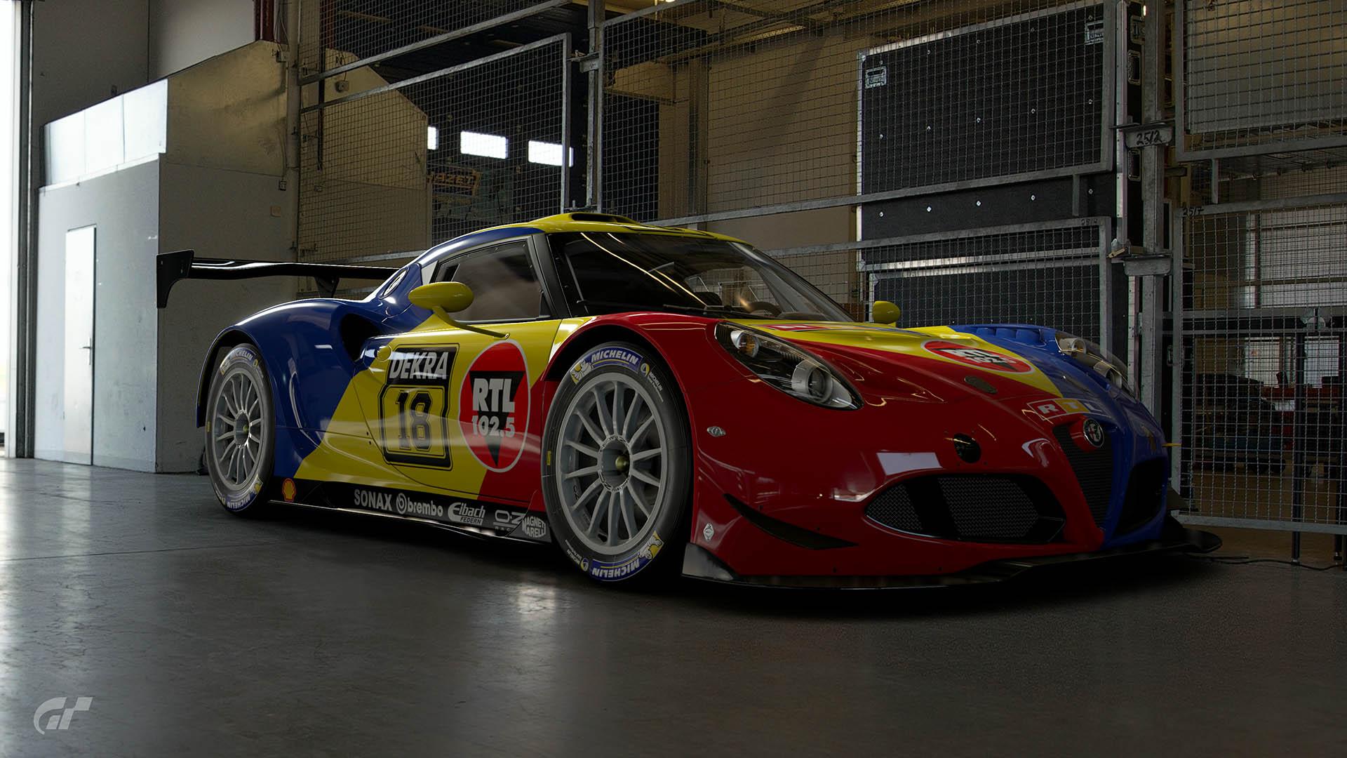 Kris Nissen 1994 DTM Alfa 4C