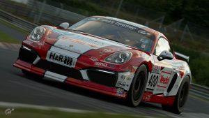 Adrenalin Motorsport Veedol #400 Porsche Cayman S VLN 2018