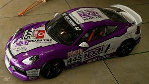 Adrenalin Motorsport Nexen Tire #445 Porsche Cayman VLN 2018