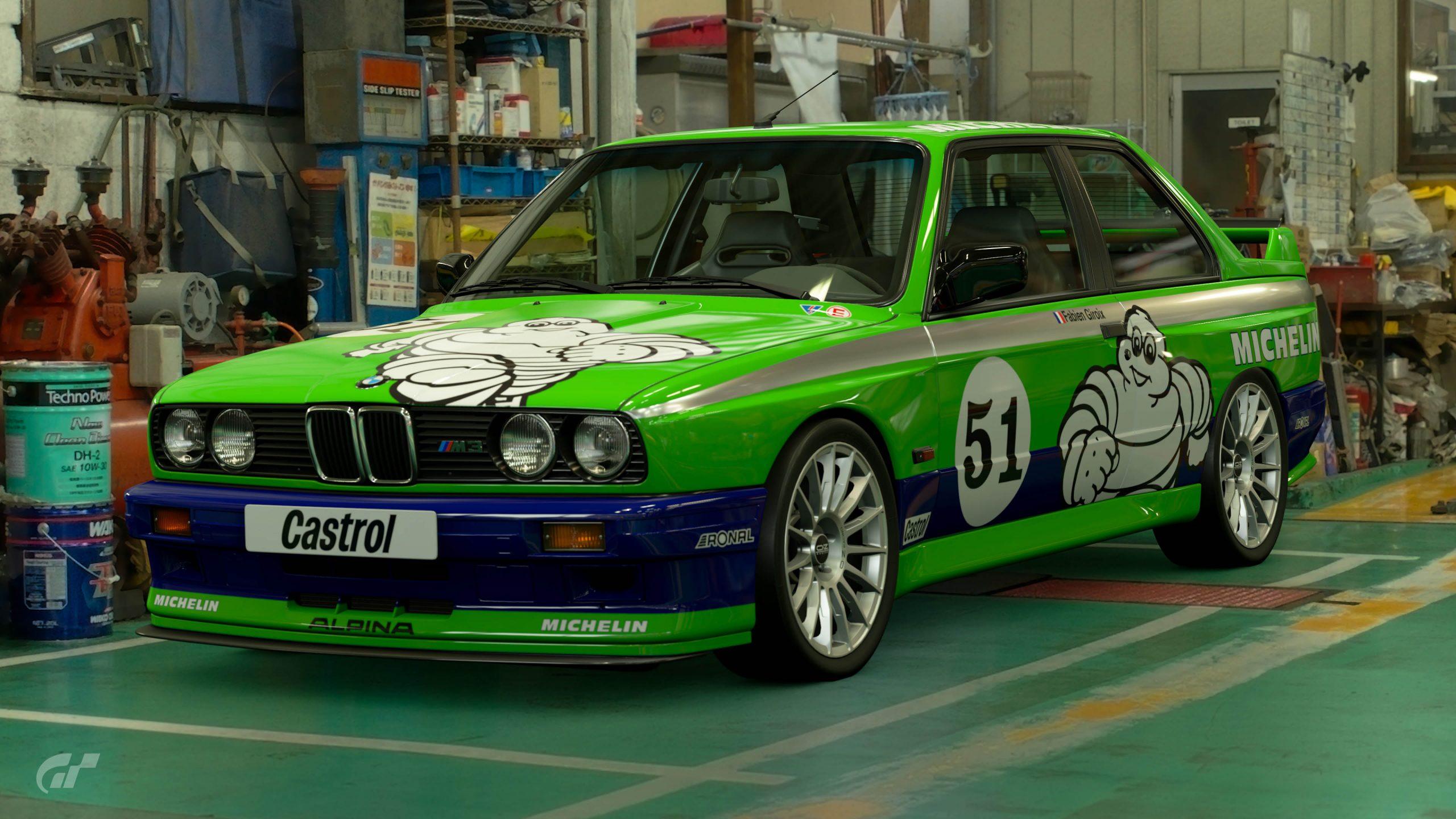 1987 Fabien Giroix DTM BMW M3