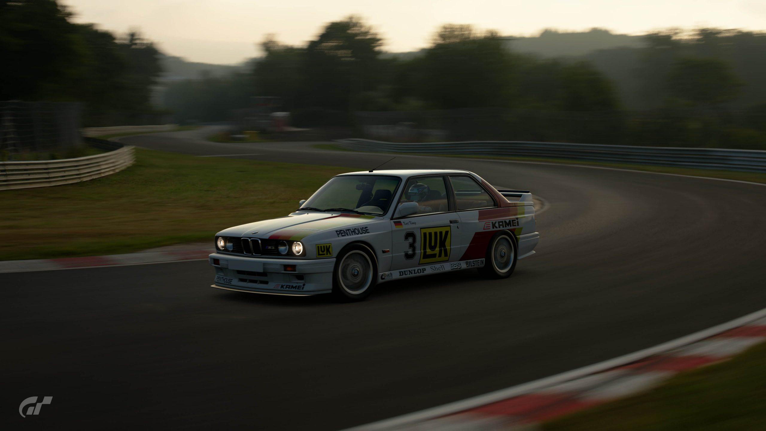 1987 Kurt Konig DTM BMW M3