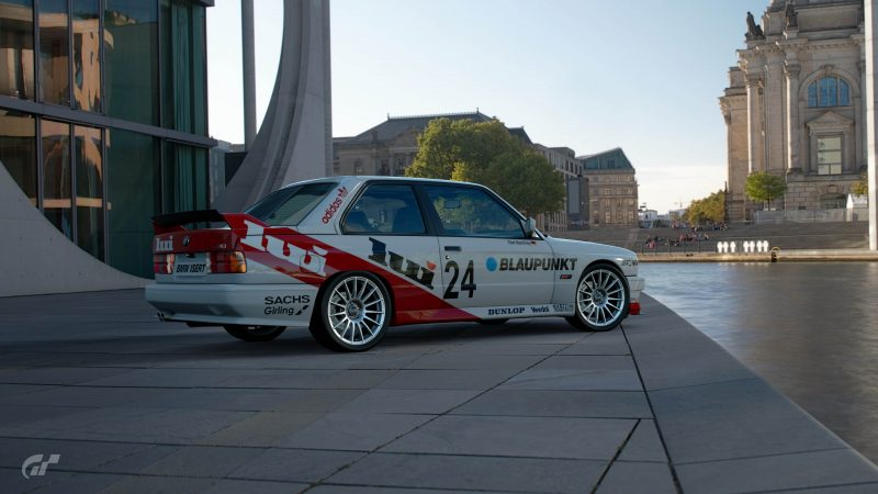 1987 Olaf Manthey DTM BMW M3