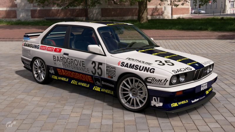 1987 Thomas von Löwis of Menar DTM BMW M3