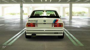 Eric van de Poele 1987 DTM BMW M3