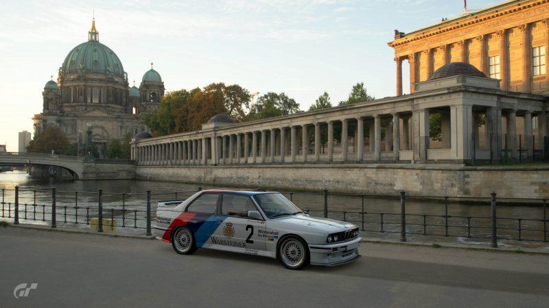 1987 Eric van de Poele DTM BMW M3